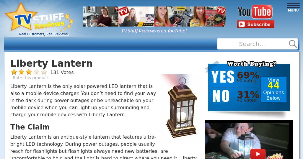 Liberty lantern LED Solar Powered Lantern 5 Way Rechargeable Options