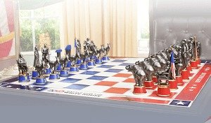 2020 Presidential Chess Set