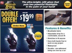 Atomic Beam Glove