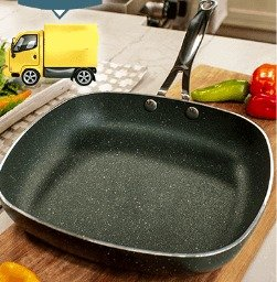 Orgreenic Diamond Granite Pan