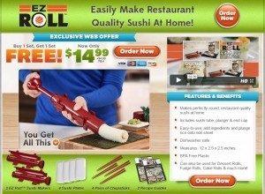 EZ Roll Sushi Maker