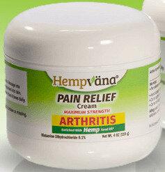 Hempvana Arthritis Pain Relief Cream