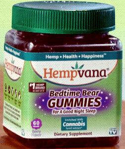 Hempvana Bedtime Bear Gummies