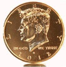 Jfk Gold Coin
