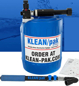 Klean-Pak Mass Disinfection System