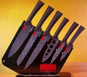 Magma Steel Knives