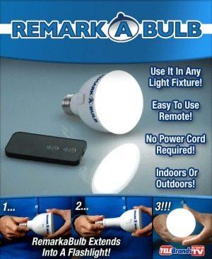 Remark A Bulb