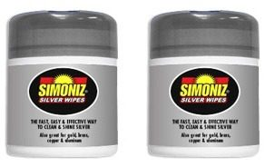 Simoniz Silver Wipes
