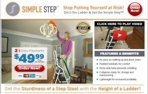 Simple Step Ladder