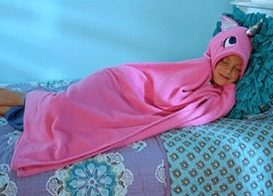 Snuggie Unicorn