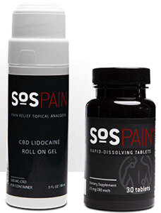 SOS Pain Relief Gel