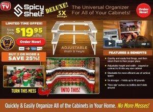 Spicy Shelf Deluxe
