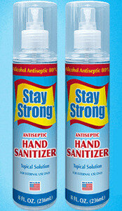 Stay Strong Sanitizer