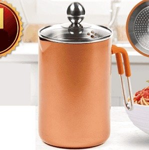 Vertical Copper Pot