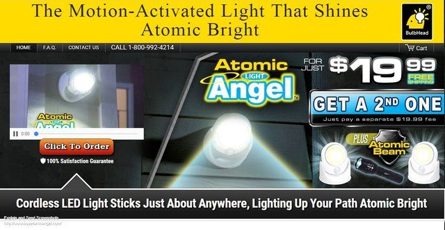 Atomic Angel Light Reviews Too Good To Be True
