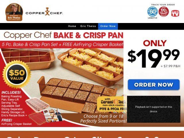 Bake And Crisp Pan Reviews Too Good To Be True