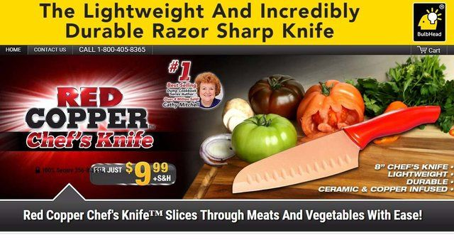 Red Copper Chefs Knife Reviews Too Good To Be True
