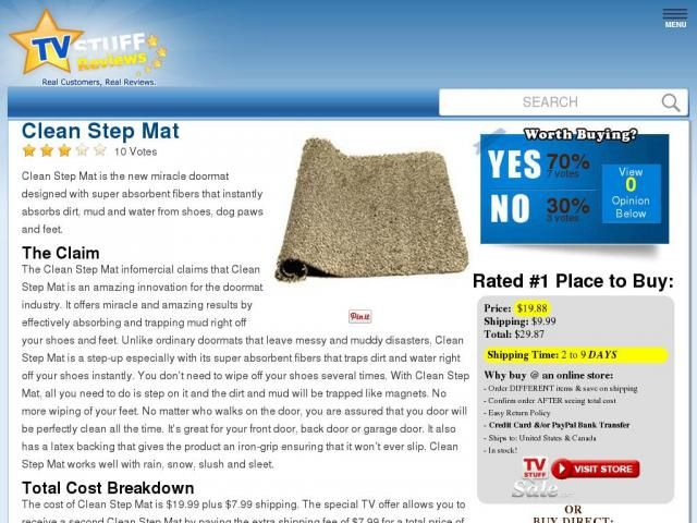 Clean Step Mat Reviews Too Good To Be True