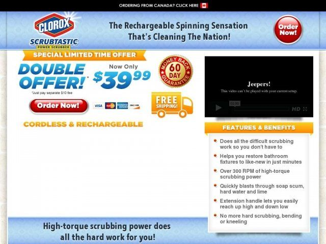 Clorox Power Scrubber Reviews Too Good To Be True
