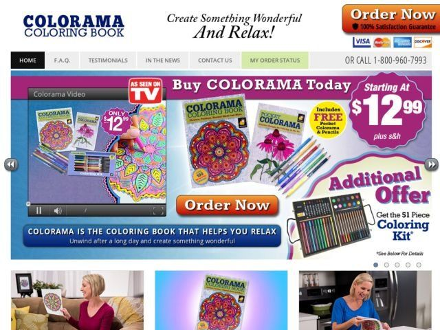 Colorama Coloring Book Review Books Walgreens
