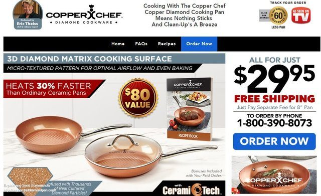 Copper Chef Diamond Pan Reviews Too Good To Be True