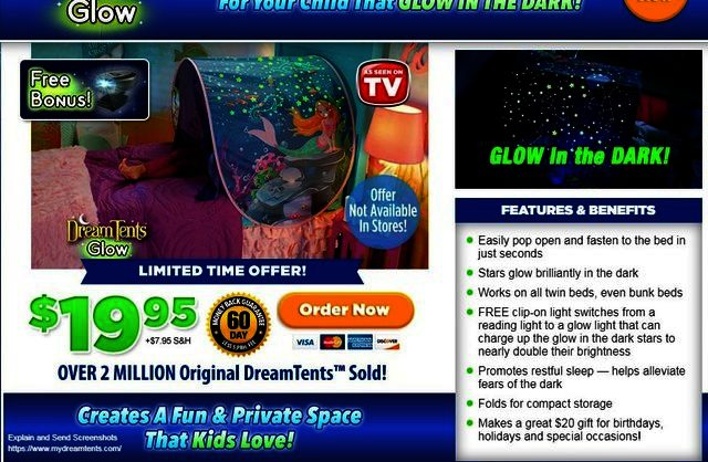 Dream Tents Glow Reviews Too Good To Be True