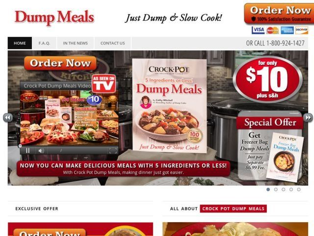 Dump Meals Reviews Too Good To Be True