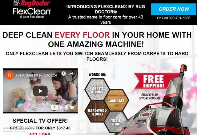 Flexclean By Rug Doctor Reviews Too Good To Be True