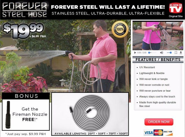 Forever Steel Hose Reviews Too Good To Be True