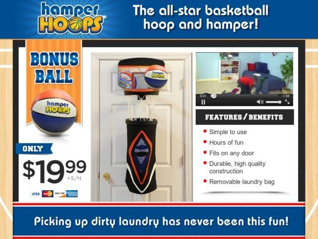 Hamper hoops reviews too good to be true - Basketball hoop laundry hamper ...