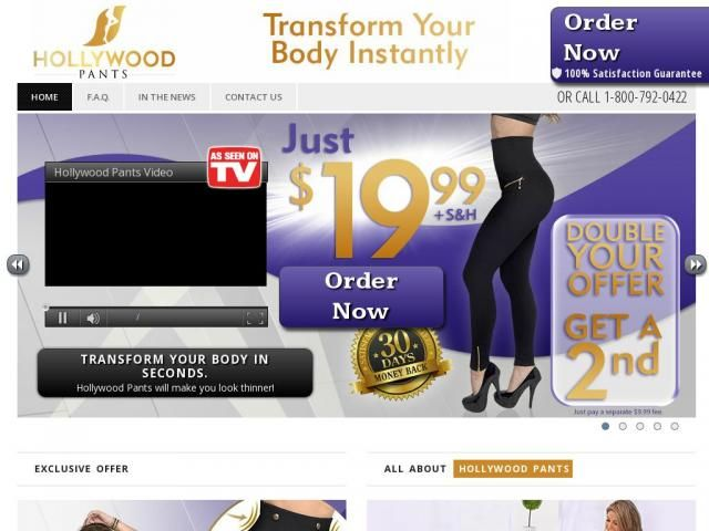Hollywood Pants Reviews - Too Good to be True?