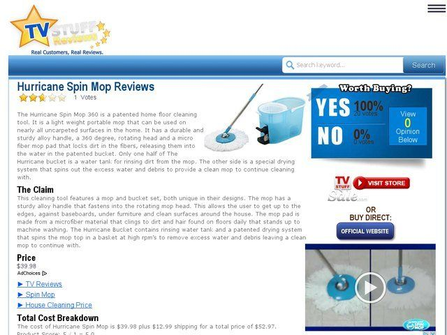 Hurricane Spin Mop Reviews Too Good To Be True