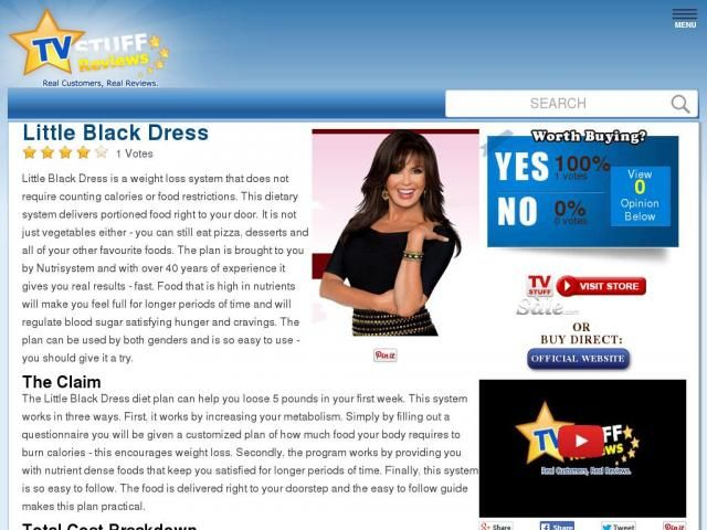 Little Black Dress Reviews Too Good To Be True