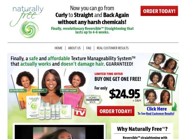Naturally Free Reviews Too Good To Be True