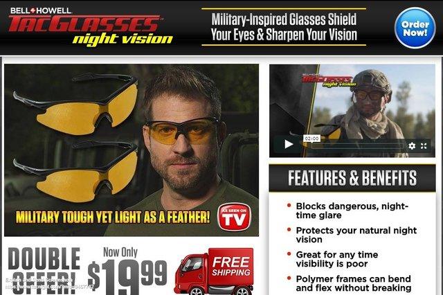 9844b68b4a9bf Night Vision Tac Glasses Reviews - Too Good to be True