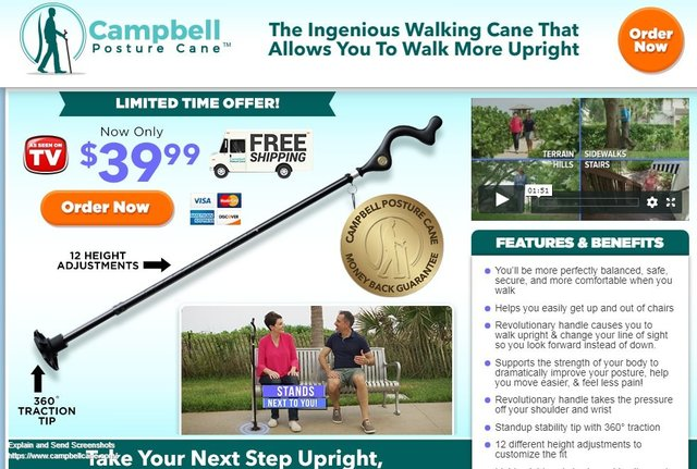 Campbell cane amazon