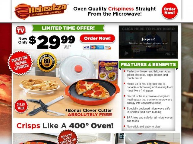 Reheatza Microwave Crisper Reviews Too Good To Be True