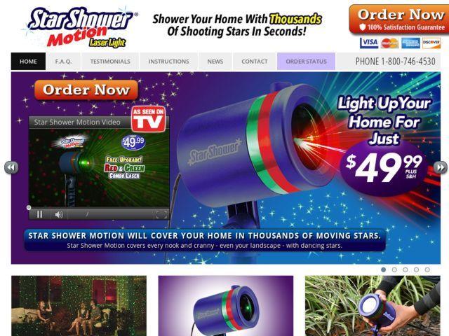 Star shower motion reviews too good to be true for Avis star shower motion