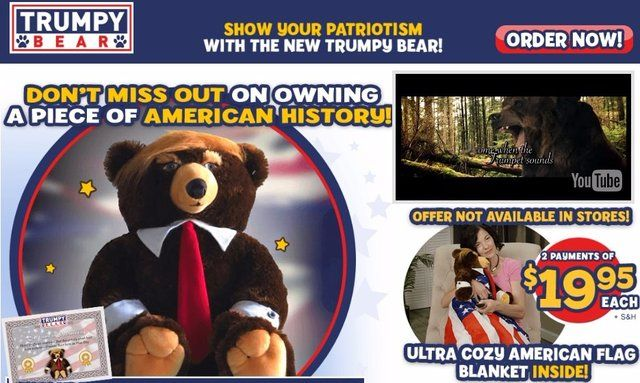 Trumpy Bear Most Hated Bear Amp Best President Reviews