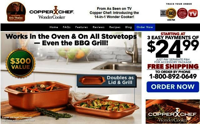 Copper Chef Wonder Cooker Reviews Too Good To Be True