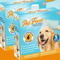 Pet Fresh Wash Mitts Review